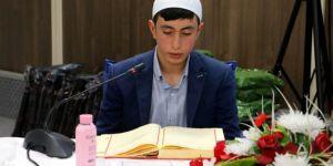 Diyarbakır'da Kur´an-ı Kerimi Güzel Okuma Ve Hafızlık Yarışması gerçekleştirildi