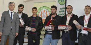 Şanlıurfa Hilvan'da Kur'an ve ezan okuma yarışması yapıldı