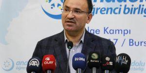 Adalet Bakanı Bozdağ: Eski Türkiye muhaldir
