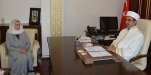 Alman kadın Gaziantep'te Müslüman oldu