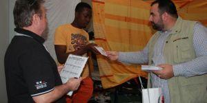 Avrupa Yetim-Der'den Almanya'daki mültecilere yardım