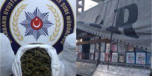 Diyarbakır'da uyuşturucu ve kaçak sigara operasyonu