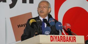 Kemal Kılıçdaroğlu Diyarbakır'da konuştu