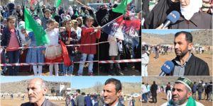Kutlu Doğum etkinliği sonrası köylüler duygularını paylaştı
