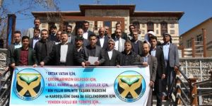 Ergani'deki STK'lardan referandumda 'evet' çağrısı