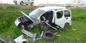 Diyarbakır Silvan Karayolunda trafik kazası: 4 yaralı