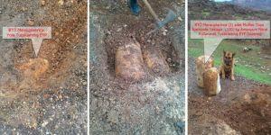 Diyarbakır Hazro'da yola döşenen patlayıcı imha edildi