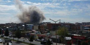 Diyarbakır'da şiddetli patlama: Yaralılar var