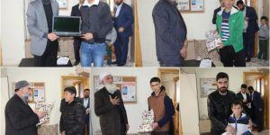 Siyer Sınavı'nda dereceye girenler ödüllendirildi