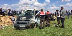 Bozova'da trafik kazası: 6 ölü, 6 yaralı
