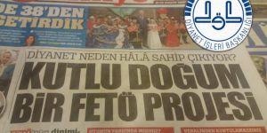 Diyanet İşleri Başkanlığından Türkiye gazetesine sert tepki