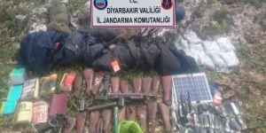Diyarbakır Lice'de 2 sığınak kullanılamaz hale getirildi foto