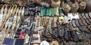 Tunceli Ovacık'ta PKK'ye ait mühimmat ele geçirildi