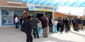 Elazığ'da Umut Kervanı Gıda Bankası açıldı