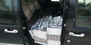 Van'da 127 bin paket kaçak sigara ele geçirildi