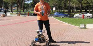 Lise öğrencisi Mars'ta çalışabilecek robot tasarladı