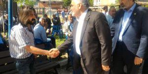 HÜDA PAR Genel Başkanı Yapıcıoğlu'ndan taziye ziyareti