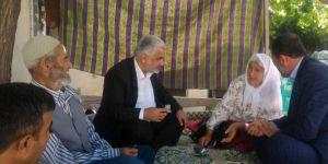 Yapıcıoğlu'ndan Vahdet-Der Davası mağdurlarına ziyaret