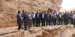 Historical cemetery, water cistern and dungeon open to tourism in Mardin