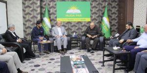 HAMAS delegation visits HUDA PAR