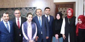 Aile ve Sosyal Politikalar Bakanı Kaya Bingöl'de