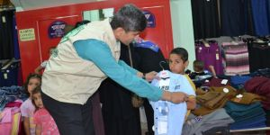 Siverek Umut Kervanı 200 çocuğu giydirdi