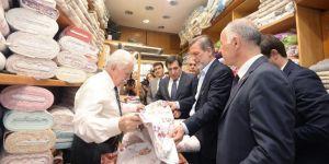 7 asırlık Bursa Tarihi Çarşıda hedef 40 milyon liralık ciro