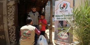 Avrupa Yetim-Der Gazze'de yardım çalışmalarına başladı