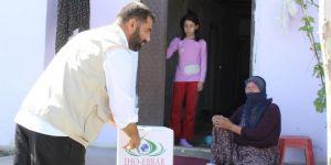 IHO-EBRAR'dan ihtiyaç sahiplerine Ramazan kumanyası