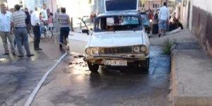 Yanan otomobilde mahsur kalan çocuk hayatını kaybetti
