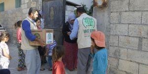 Umut Kervanından Hilvan'da 200 aileye gıda yardımı