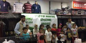 Umut Kervanı Platformu'ndan Ramazan yardımları