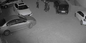 Diyarbakır'daki araç soygunu girişimi kameraya yansıdı video