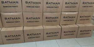 Batman Valiliği ramazanda 8 bin aileye yardım yaptı