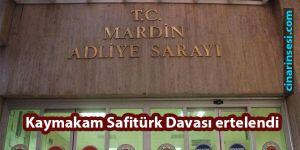 Derik Kaymakamı Muhammed Fatih Safitürk davası ertelendi