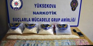 Hakkari Yüksekova'da uyuşturucu operasyonları