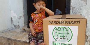 Umut Kervanı Şanlıurfa'da yardımlarına devam ediyor