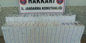 Kaçak sigara ticareti yapan 2 kişi gözaltına alındı