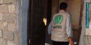 Umut Kervanı Vakfı, Çınar'da 160 aileye yardımda bulundu