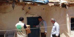 Rahmet Gıda Bankası Ramazan'da 370 aileye yardım ulaştırdı
