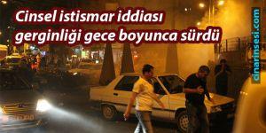 Diyarbakır Bağlar'daki cinsel istismar iddiası gerginliği gece boyunca sürdü