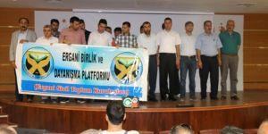 Ergani Devlet Hastanesinde engelliye taciz protesto edildi