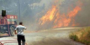 Alanya'daki yangın 24 saattir söndürülemedi