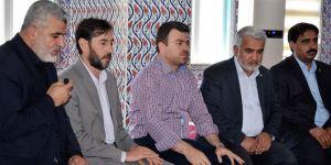 HÜDA PAR Genel Başkanı Yapıcıoğlu'ndan Yavuz'a taziye ziyareti