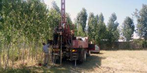 Van Erciş'te zemin etüt çalışmaları yapılıyor