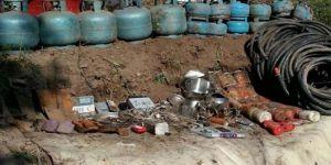 Muş Varto 'da PKK'ye ait sığınak tespit edildi