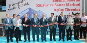 El konulan dershane binası kültür merkezine dönüştürüldü