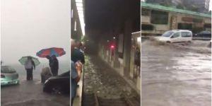 Heavy rainfall in Istanbul