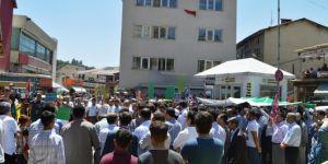 Bitlis halkı terör rejimini lanetledi