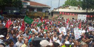 Siyonist işgalciler Bursa'da telin edildi